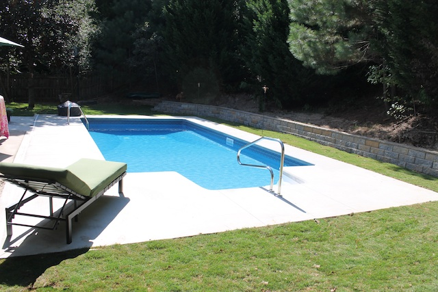Inground pool installation atlanta ga vinyl pool builder co for Pool installation cost