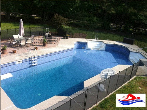 Inground pool installation atlanta ga vinyl pool builder co for Vinyl swimming pool
