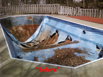 Mcdonough Ga Pool Liner Installation Atlanta Pool