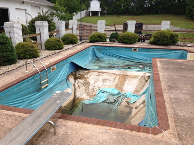 Pool liner installation atlanta georgia vinyl liners for Inground pool dealers near me