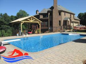 cartersville ga Inground Pool Installation finish