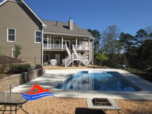 cartersville ga inground pool installation