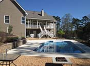cartersville ga inground pool installation a